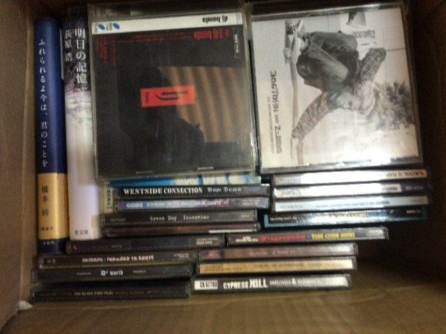 静岡県裾野市桃園よりCDを中心に寄付していただきました