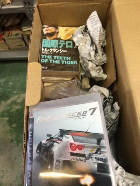 新座市大和田から書籍、ゲームの寄付をいただきました