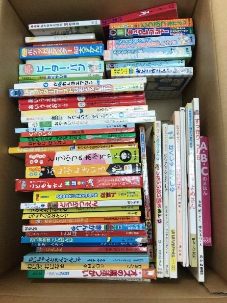 東京都練馬区より絵本の寄付をして頂きました