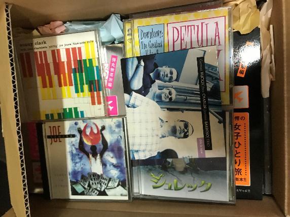 宮城県多賀城市よりCD、DVDなどを寄付していただきました